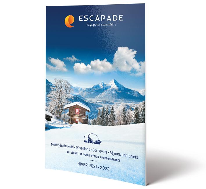 Catalogue Voyages autocar hiver Escapade 2021-2022